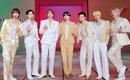 BTS(防弾少年団)、ARMYの人文字もバッチリ披露!「CDTVライブ!ライブ!」で最新曲「Butter」をパフォーマンス