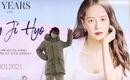 ソン・ジヒョ、デビュー20周年記念を迎え…大規模な地下鉄広告に感謝「恩返しできるように頑張ります」
