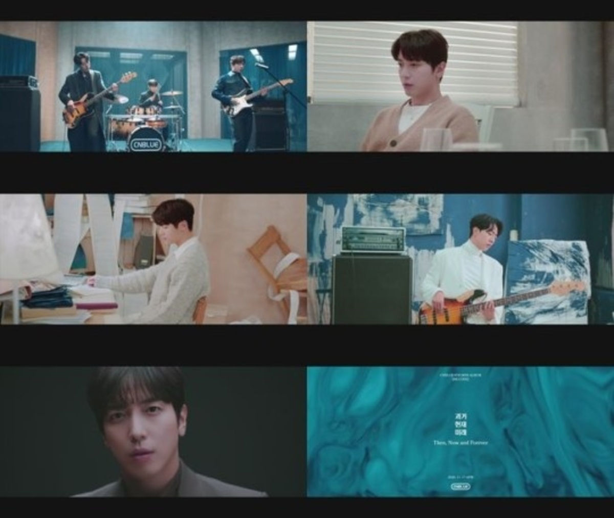 CNBLUE、新曲「Then,Now and Forever」MV予告映像第2弾を公開…より一層成熟したビジュアル ...