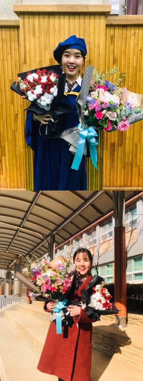 式 花束 卒業