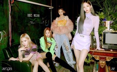 SMの新人ガールズグループaespa、デビュー曲「Black Mamba」MV公開…大型新人の誕生!SNSでトレンド入りも - Kstyle