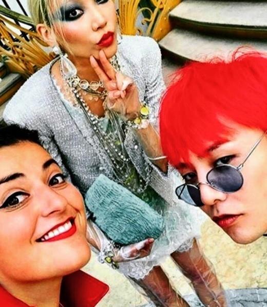 G-DRAGON、パリで美女モデルのSOOJOOとの写真が話題…肩を組んだ姿に視線集中